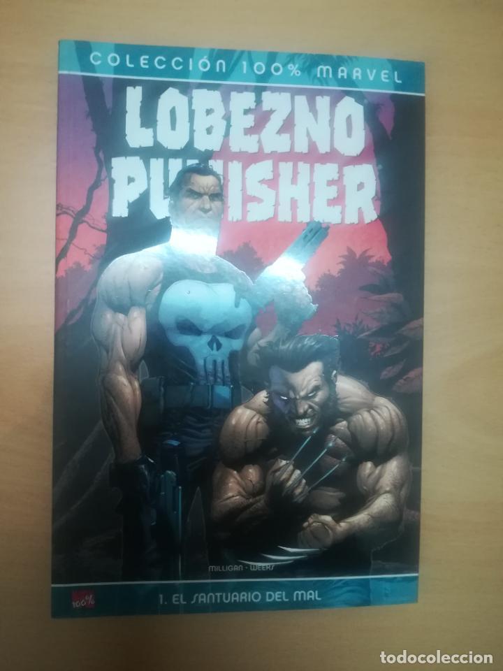 LOBEZNO PUNISHER EL SANTUARIO DEL MAL (100% MARVEL) (Tebeos y Comics - Panini - Marvel Comic)