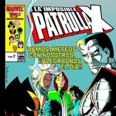 Cómics: LA IMPOSIBLE PATRULLA-X 7. LA MASACRE MUTANTE (MARVEL GOLD). Lote 253911680