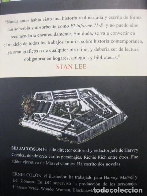 Cómics: El informe del 11-S: una novela gráfica de Sid Jacobson y Ernie Colón - COMIC Panini - Foto 2 - 253912825