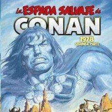 Cómics: LA ESPADA SALVAJE DE CONAN 5 1978 SEGUNDA PARTE - PANINI / MARVEL LIMITED EDITION / TAPA DURA. Lote 254157620