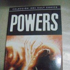 Cómics: POWERS - PARA SIEMPRE - COLECCIÓN 100 % CULT - ED. PANINI. Lote 254251240