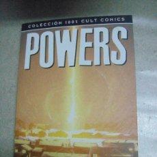 Cómics: POWERS - CÓSMICO - COLECCIÓN 100 % CULT - ED. PANINI. Lote 254251485