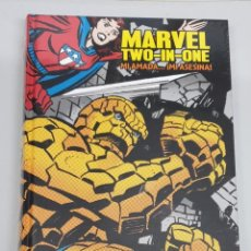 Cómics: MARVEL TWO IN ONE : MI AMADA ... ¡ MI ASESINA ! / MARVEL LIMITED EDITION - PANINI. Lote 254778870