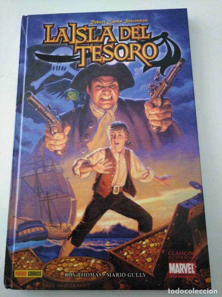 LA ISLA DEL TESORO. ROY THOMAS, MARIO GULLY (Tebeos y Comics - Panini - Otros)