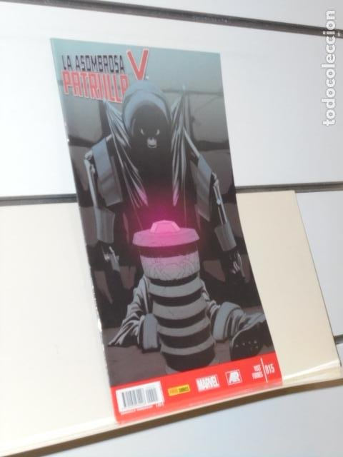 LA ASOMBROSA PATRULLA X Nº 15 - PANINI (Tebeos y Comics - Panini - Marvel Comic)
