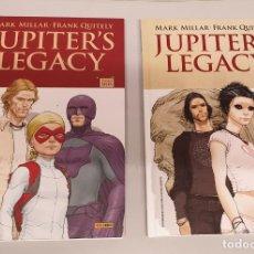 Cómics: JUPITER`S LEGACY ¡ COMPLETA 2 TOMOS ! MARK MILLAR - FRANK QUITELY / PANINI COMICS. Lote 255965855