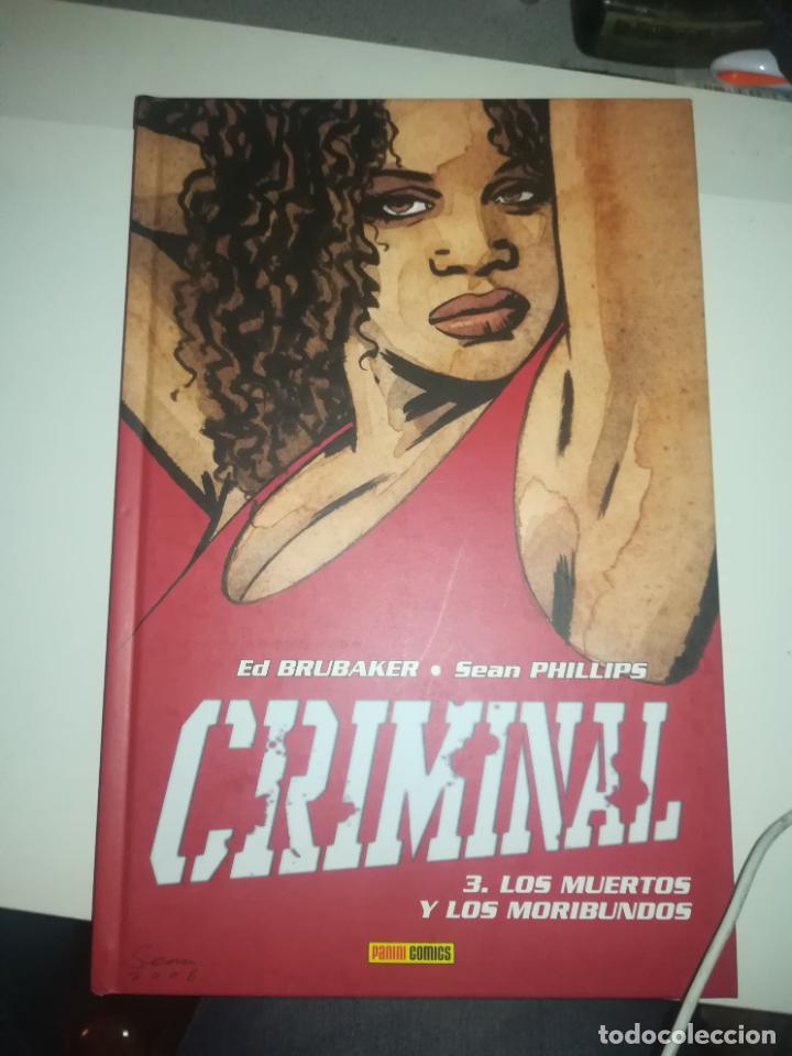 CRIMINAL #3 LOS MUERTOS Y LOS MORIBUNDOS (Tebeos y Comics - Panini - Otros)