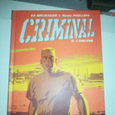 Cómics: CRIMINAL #2 LAWLESS. Lote 255979780