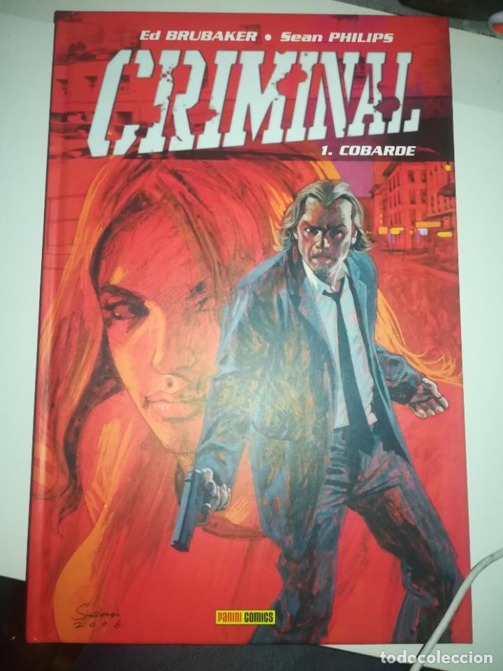 CRIMINAL #1 COBARDE (Tebeos y Comics - Panini - Otros)