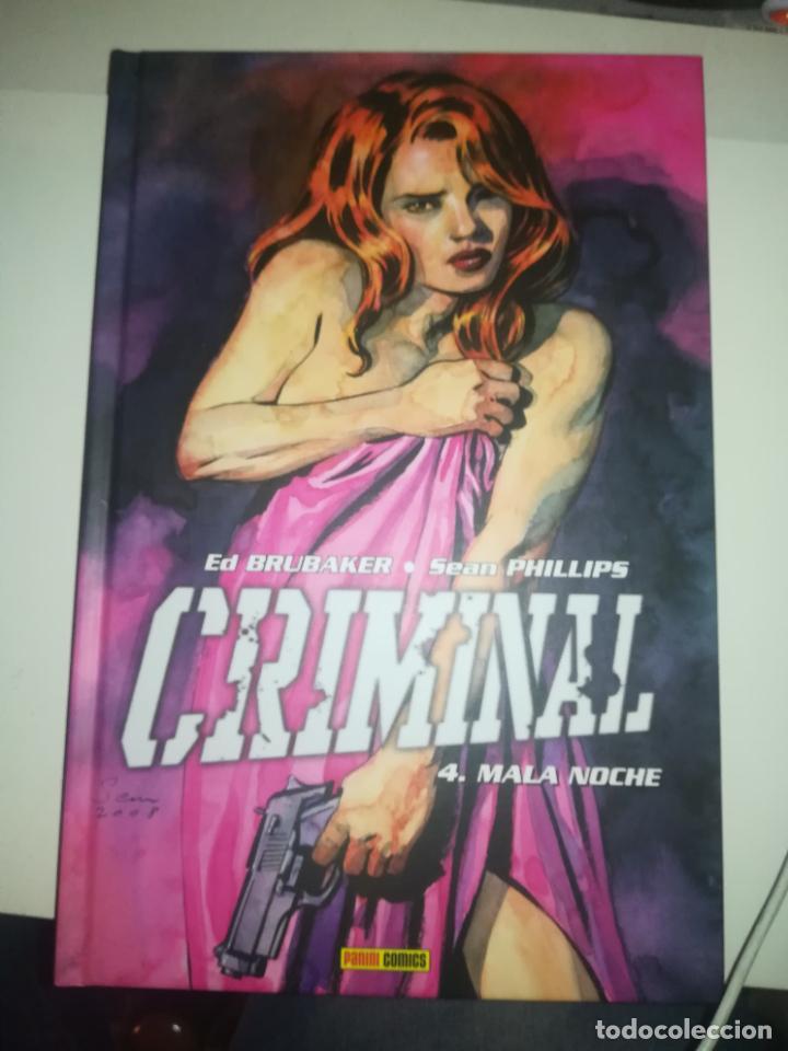 CRIMINAL #4 MALA NOCHE (Tebeos y Comics - Panini - Otros)