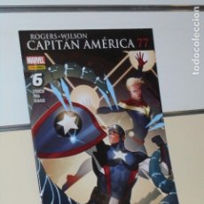 Cómics: CAPITAN AMERICA VOL. 8 Nº 77-6 CIVIL WAR II MARVEL - PANINI. Lote 256059025