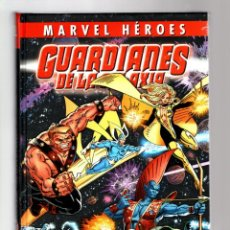 Cómics: GUARDIANES DE LA GALAXIA 1 : LA BUSQUEDA DEL ESCUDO - PANINI / MARVEL HEROES 79 / TAPA DURA. Lote 257605915