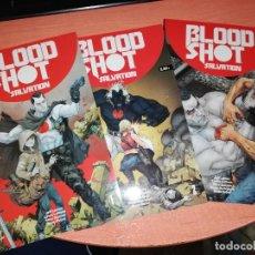 Cómics: BLOODSHOT SALVATION # 1-2-3-4-5 (MEDUSA EDITORIAL,2018) - VALIANT - JEFF LEMIRE. Lote 257881965
