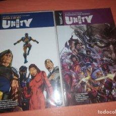 Cómics: UNITY Nº 1-2 - VALIANT - RÚSTICA- NUEVOS. Lote 257888735