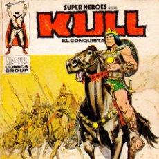Cómics: KULL EL CONQUISTADOR. CABALGA EL REY KULL. MARVEL, SUPERHEROES (COMIC). Lote 257978905