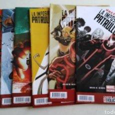 Cómics: LOTE DE 6 CÓMIC LA IMPOSIBLE PATRULLA X. Lote 211655259