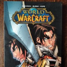 Cómics: WORLD OF WARCRAFT, EL RETORNO DEL REY. WALTER SIMONSON/ BURAN - TOMO PANINI COMICS.. Lote 259311210