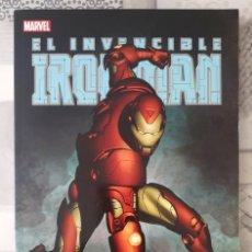Comics: EL INVENCIBLE IRON MAN. SECRETARIO DE DEFENSA. TOMO ÚNICO. PANINI COMICS 2014. Lote 260088490