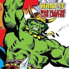 Cómics: WHAT IF. MAS ALLA DE LOS LIMITES (MARVEL LIMITED EDITION). Lote 261257645