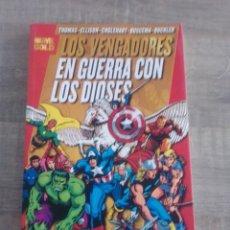 Cómics: LOS VENGADORES:EN GUERRA CON LOS DIOSES-TOMO PANINI COMICS. Lote 261298690