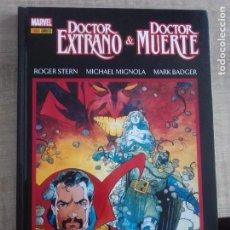 Cómics: DOCTOR EXTRAÑO Y DOCTOR MUERTE:TRIUNFO Y TORMENTO-PANINI CARTONÉ. Lote 261301305