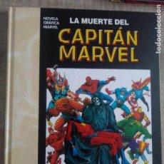 Cómics: NOVELA GRÁFICA MARVEL:LA MUERTE DEL CAPITÁN MARVEL - JIM STARLIM - PANINI COMICS. Lote 261301910