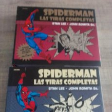 Cómics: SPIDERMAN LAS TIRAS COMPLETAS 1 Y 2 STAN LEE - JOHN ROMITA PANINI COMICS. Lote 261302570