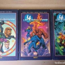 Cómics: COMICS 4 FANTÁSTICOS BEST OF MARVEL ESSENTIALS COMPLETA 3 NÚMEROS. Lote 261549575