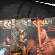 Cómics: CONAN 8-9-10 PANINI BUEN A MUY BUEN ESTADO. Lote 261594870
