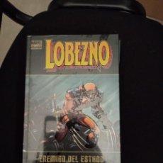 Cómics: Z MARVEL DELUXE LOBEZNO. ENEMIGO DEL ESTADO, DE MILLAR Y ROMITA JR (PANINI) FORRADO. Lote 261932970