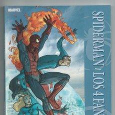 Cómics: COLECCION 100% MARVEL : SPIDERMAN Y LOS 4 FANTASTICOS (PANINI, 2011). NUEVO. Lote 262047450
