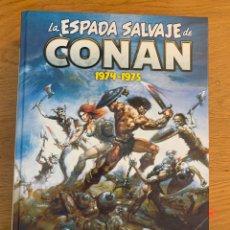 Comics : LA ESPADA SALVAJE DE CONAN OMNIBUS (1974-1975). Lote 262077510