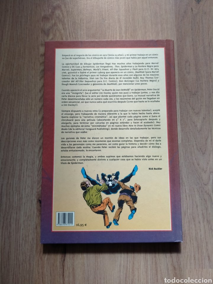 Cómics: Spiderman. La muerte de Jean Dewolff. Peter David. Rich Buckler. - Foto 2 - 262425230