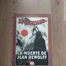 Cómics: SPIDERMAN. LA MUERTE DE JEAN DEWOLFF. PETER DAVID. RICH BUCKLER.. Lote 262425230