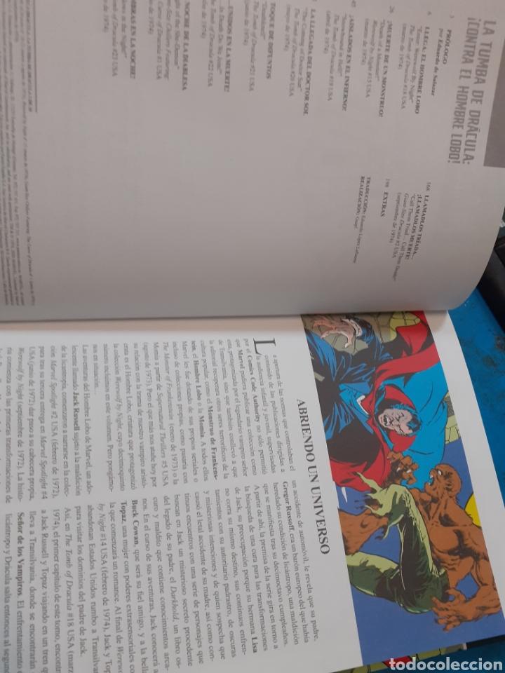 Cómics: LA TUMBA DE DRACULA.CONTRA EL HOMBRE LOBO.MARVEL.Nuevo sin leer. - Foto 4 - 262436670