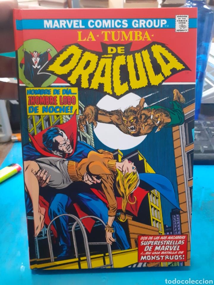 LA TUMBA DE DRACULA.CONTRA EL HOMBRE LOBO.MARVEL.NUEVO SIN LEER. (Tebeos y Comics - Panini - Marvel Comic)