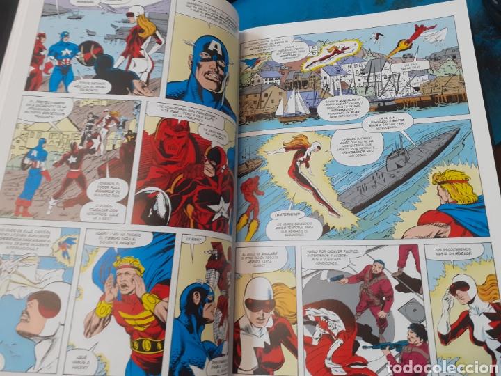Cómics: LOS VENGADORES.LA LINEA A CRUZAR.MARVEL HEROES.Nuevo sin leer. Tapas duras. - Foto 7 - 262438415