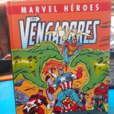 Cómics: LOS VENGADORES.LA LINEA A CRUZAR.MARVEL HEROES.NUEVO SIN LEER. TAPAS DURAS.. Lote 262438415