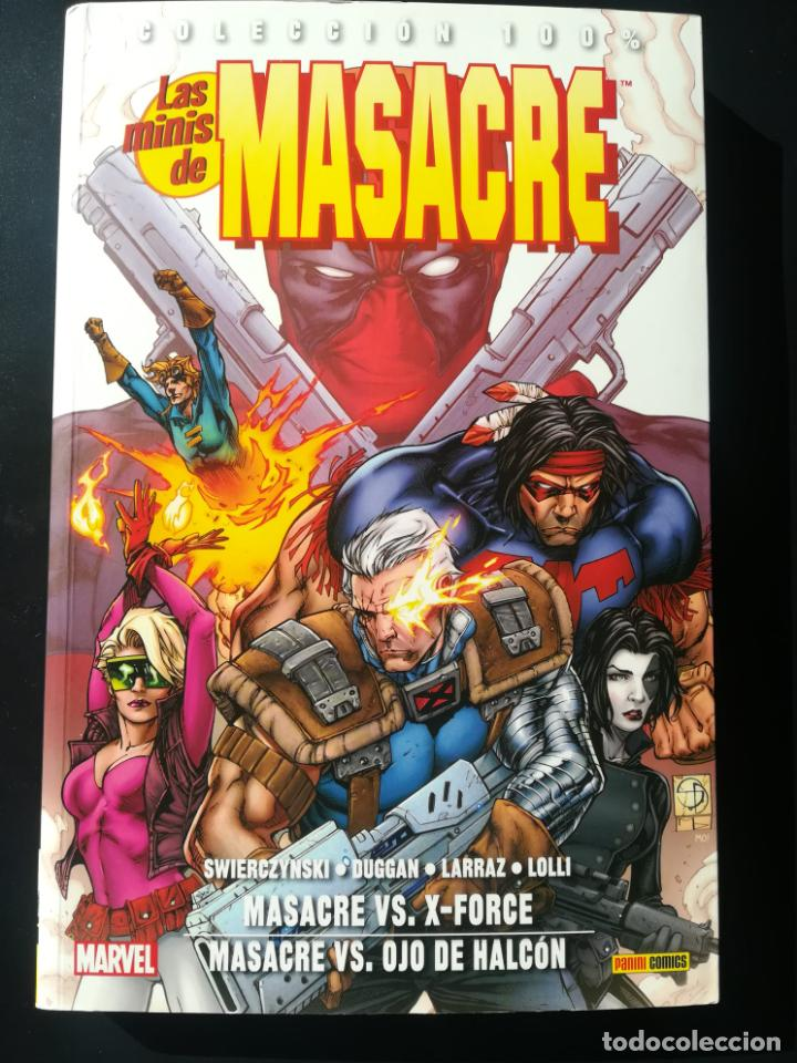 LAS MINIS DE MASACRE MASACRE VS X-FORCE (Tebeos y Comics - Panini - Marvel Comic)