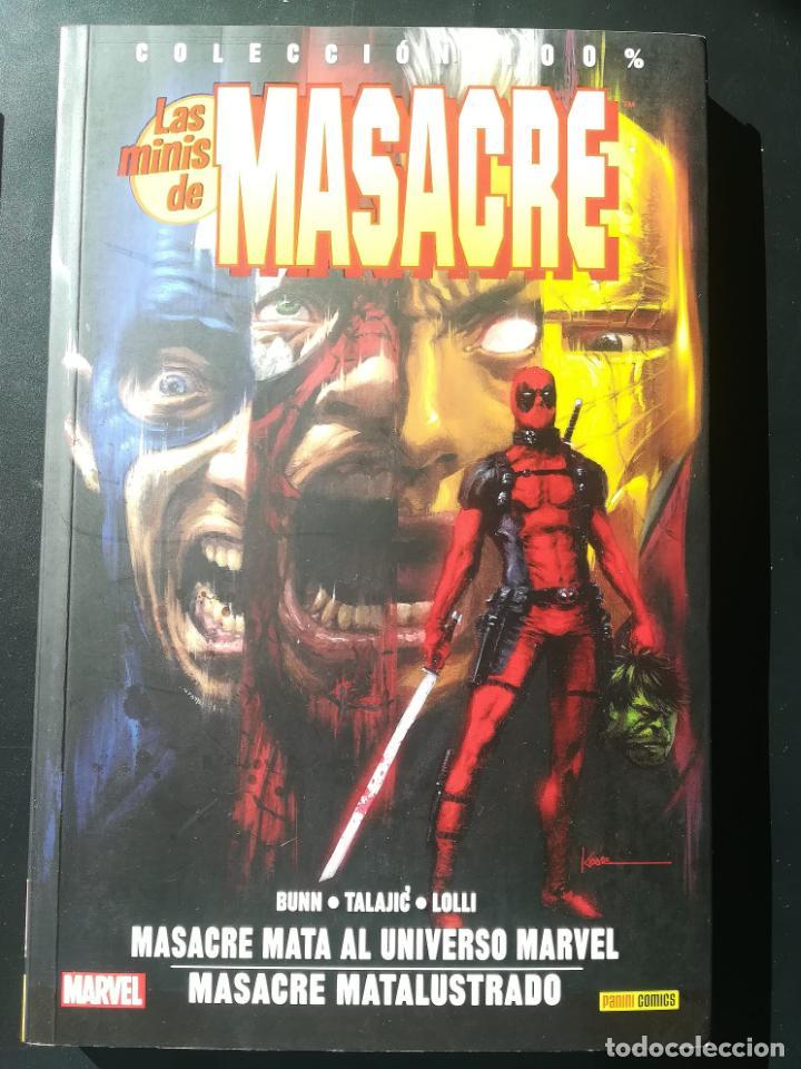 LAS MINIS DE MASACRE MASACRE MASACRE MATA AL UNIVERSO MARVEL (Tebeos y Comics - Panini - Marvel Comic)