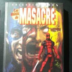Cómics: LAS MINIS DE MASACRE MASACRE MASACRE MATA AL UNIVERSO MARVEL. Lote 262454670