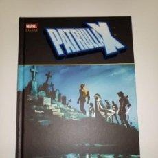 Comics: LA PATRULLA X ESPECIE EN PELIGRO MARVEL DELUXE. Lote 262481010