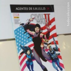 Cómics: AGENTES DE SHIELD Nº 24 CIVIL WAR II MARVEL - PANINI. Lote 262617685