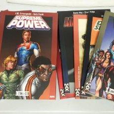 Cómics: SUPREME POWER ¡¡ COMPLETA !! Nº 1,2,3 + ESPECIALES + ESCUADRON SUPREMO / PANINI. Lote 262626435