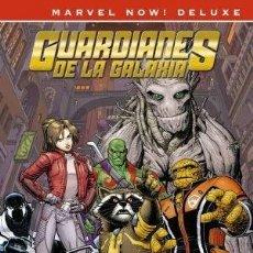 Cómics: GUARDIANES DE LA GALAXIA DE BRIAN MICHAEL BENDIS 4 - PANINI / MARVEL NOW! DELUXE / TAPA DURA. Lote 263110495