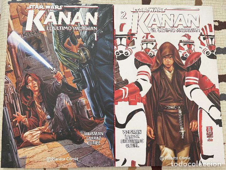 STAR WARS. KANAN. EL ULTIMO PADAWAN. SERIE COMPLETA. (Tebeos y Comics - Panini - Marvel Comic)