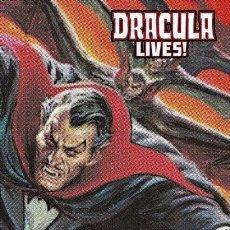 Cómics: DRACULA LIVES. MARVEL LIMITED EDITION. TAPA DURA. 700 PAGINAS APROXIMADAMENTE. Lote 288499188