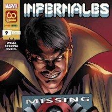 Comics: INFERNALES 9. Lote 277291738