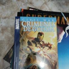 Cómics: CIVIL WAR CRIMENES DE GUERRA. Lote 265577109
