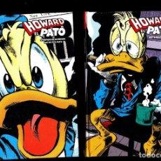 Cómics: HOWARD EL PATO 1 2 COMPLETA - PANINI / MARVEL LIMITED EDITION / TAPA DURA / NUEVOS Y PRECINTADOS. Lote 265879154